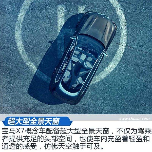近赏宝马X7插电式混动概念车 超大空间新境界-图8