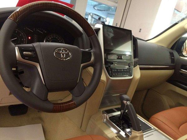 16款丰田酷路泽4000V6专卖 口碑最好SUV-图5