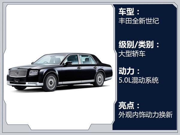 丰田8款新车10月27日集中首发 大小SUV全都有-图7