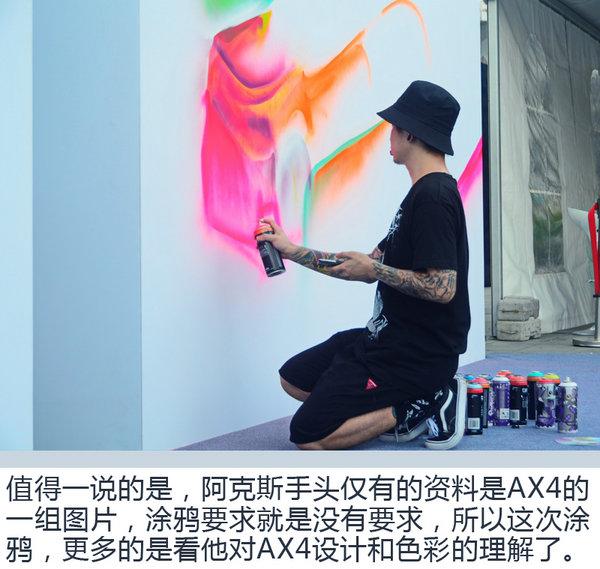 """微马涂鸦一起嗨 东风风神AX4""""夜猫""""狂欢之夜-图6"""