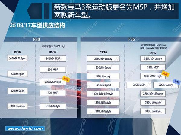 华晨宝马新3系将于九月上市 增加两款新车型-图2