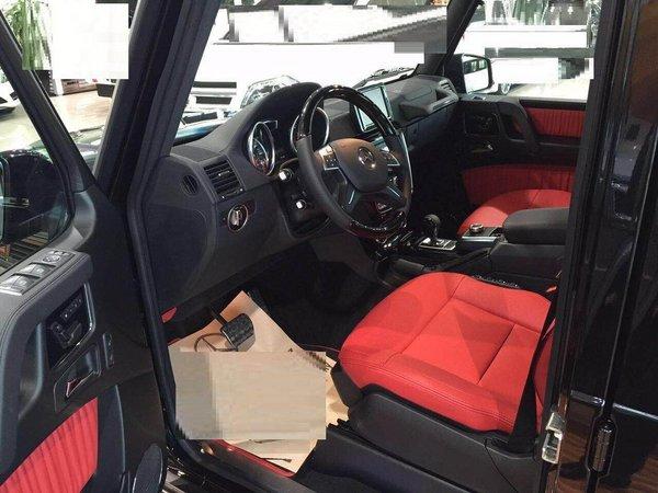 2017款奔驰G500 自适应减震器轻松行天下-图8