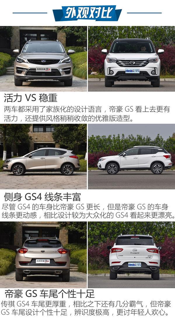 """以小""""搏""""大 吉利帝豪GS对比广汽传祺GS4-图4"""