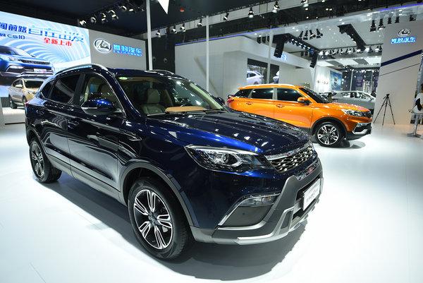 2016长沙车展猎豹汽车展现全新产品-图8