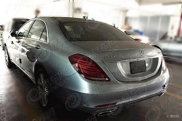 搭载3.0T发动机 奔驰S 400 L 4MATIC实车_进口新车-网上车市
