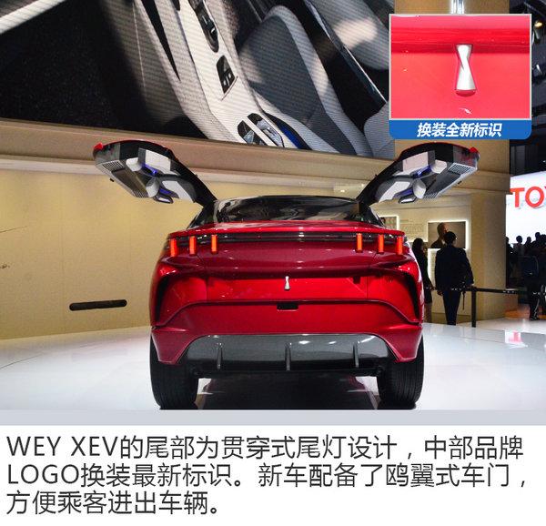 中国WEY首款电动概念车 XEV亮相法兰克福车展-图4