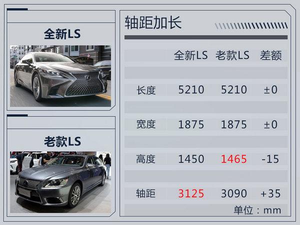 雷克萨斯全新LS搭3.5L V6引擎 综合油耗8.8L-图3