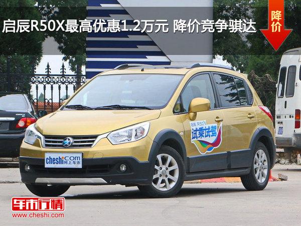 启辰R50X最高优惠1.2万元 降价竞争骐达-图1
