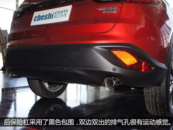 未来派轿跑SUV  银川实拍一汽马自达CX-4-图16