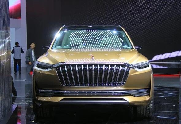红旗将推首款中型SUV 红旗HS5预明年发布高清图片