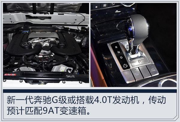 全新一代奔驰G级中控屏面积增大 明年1月发布-图6
