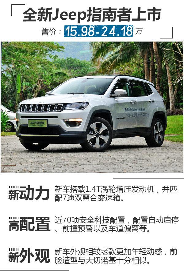 Jeep全新指南者正式上市 15.98万元起售-图1