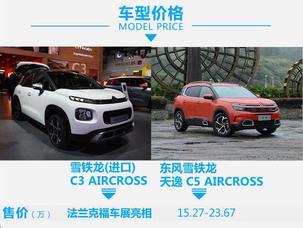 品学兼优你选谁?C3 AIRCROSS对比C5 AIRCROSS-图2