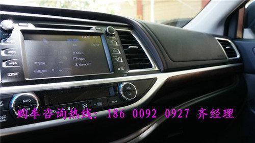 17款丰田汉兰达报价 汉兰达七座SUV行情-图6