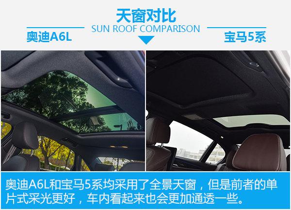 全能型豪华轿车如何选? 奥迪A6L对比宝马5系-图5