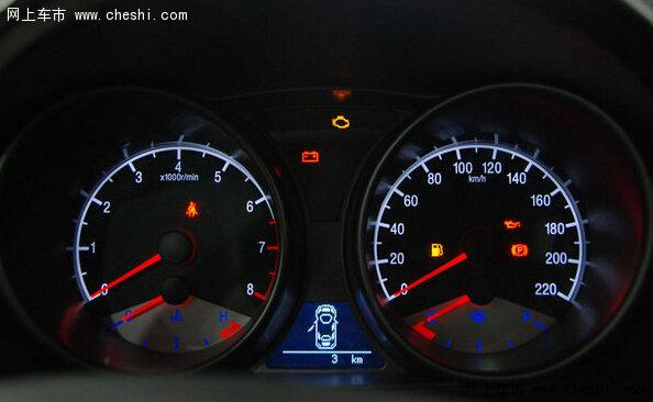 汽车仪表盘常见五种故障指示灯解读