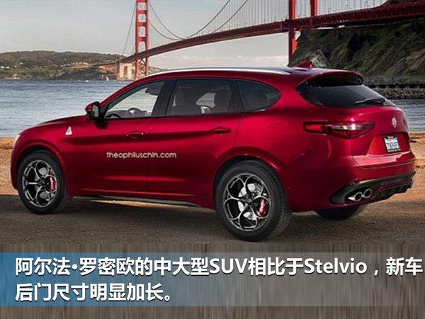 阿尔法•罗密欧全新大SUV将入华 竞争宝马X5-图4