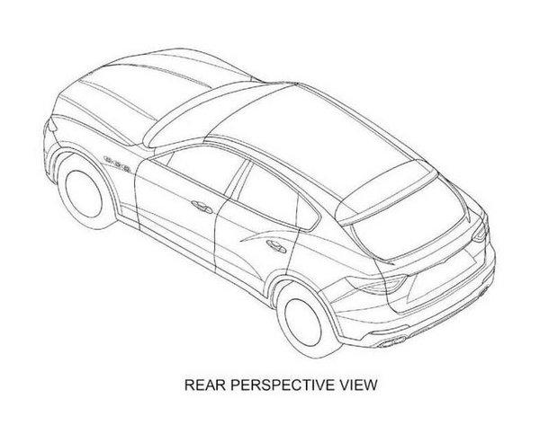 玛莎拉蒂首款SUV Levante 专利图大曝光_Kubang_进口新车-网上车市