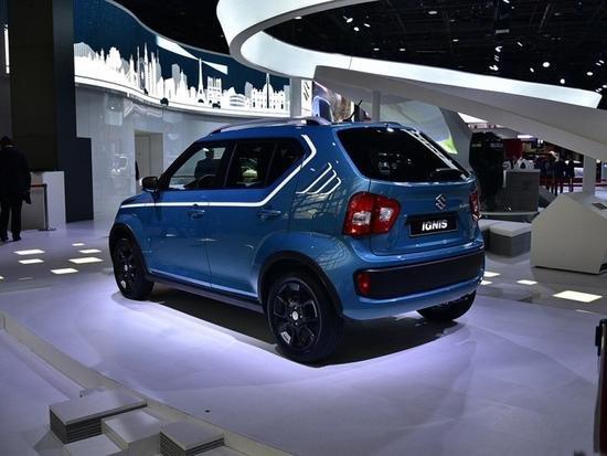 铃木英格尼斯1.2L小型SUV  预售价13.8万-图2