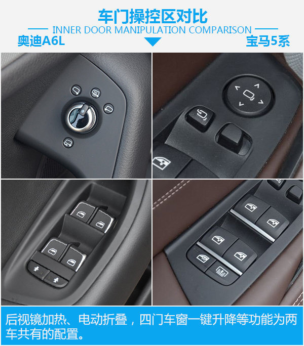 全能型豪华轿车如何选? 奥迪A6L对比宝马5系-图4