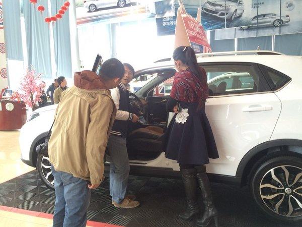 高性能SUV  全新MG GS名爵锐腾桂林品鉴-图6