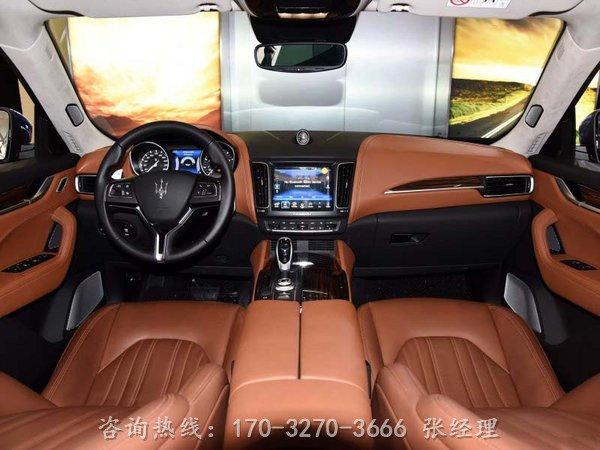 16款玛莎拉蒂Levante 莱凡特SUV魅力无边-图4
