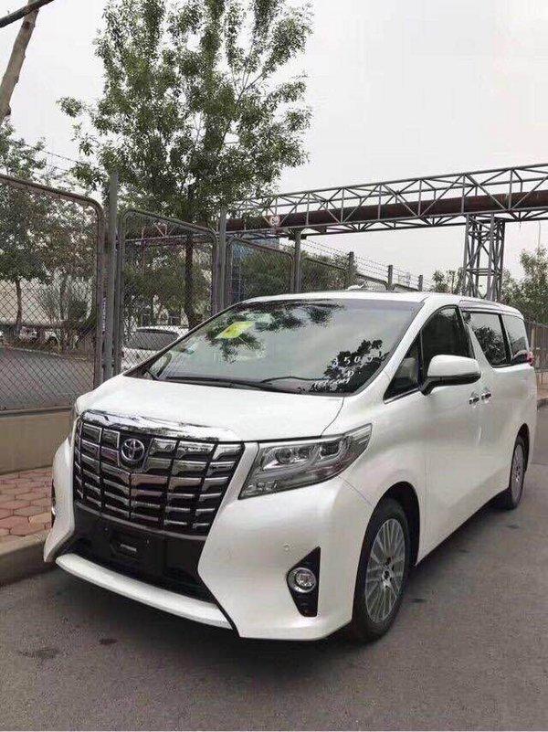 2017款丰田埃尔法 爆款商务车享舒适旅程-图2