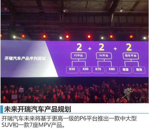 """开瑞发布""""三新战略"""" 将推C级SUV等多款车-图3"""