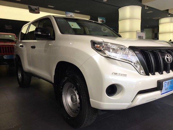 西安霸道2700现车优惠 丰田普拉多36.5万-图6