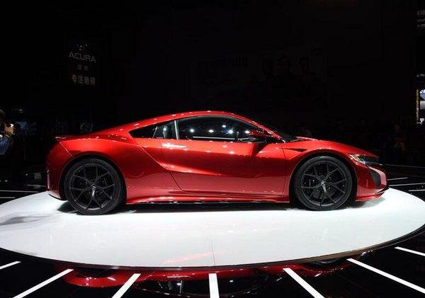 北京车展上市:讴歌NSX预售价300万元-图2