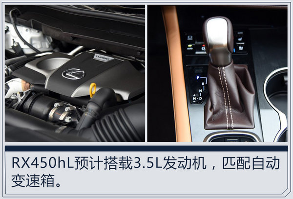 雷克萨斯RX加长160mm推7座车型 10月底发布-图8