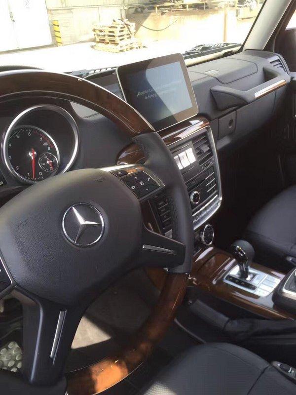 2017款奔驰G500/奔驰G550 优惠消息解密-图8