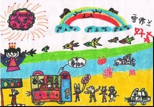 雪佛兰儿童绘画比赛