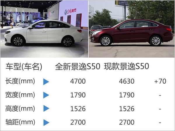 风行景逸S50-中期改款 将于2月18日上市-图4