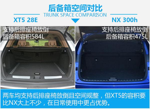 美式豪华还是日式运动 XT5 28E对比NX 300h-图3