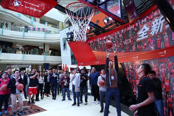 东风日产NBA球迷日系列活动北京站开启-图6