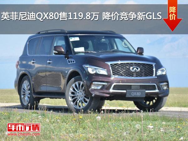 英菲尼迪QX80售119.8万 降价竞争新GLS-图1