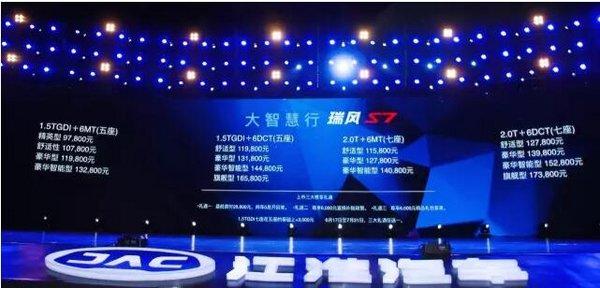 引领紧凑型SUV升级新趋势江淮瑞风S7-图3
