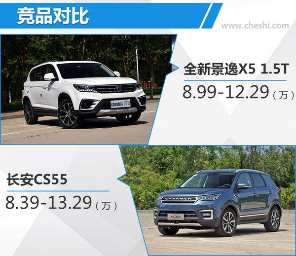 东风风行全新景逸X5 1.5T/X6上市 8.49万起售-图2