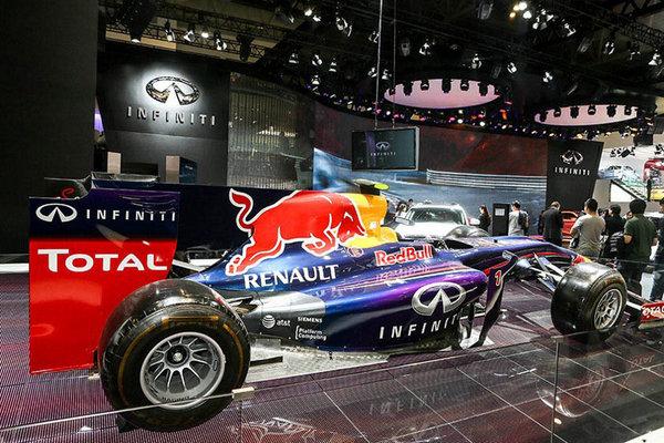 英菲尼迪-红牛车队2014赛季全新F1战车RB10-英菲尼迪三款重磅车型
