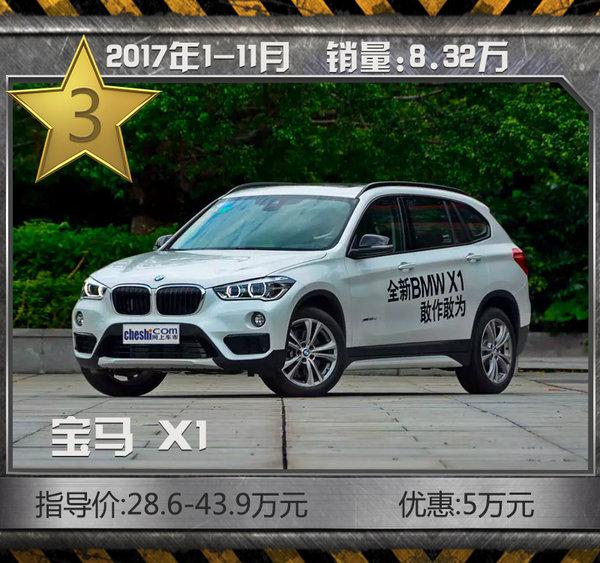这十款豪华SUV最热销!11月最高降价近20万元-图7