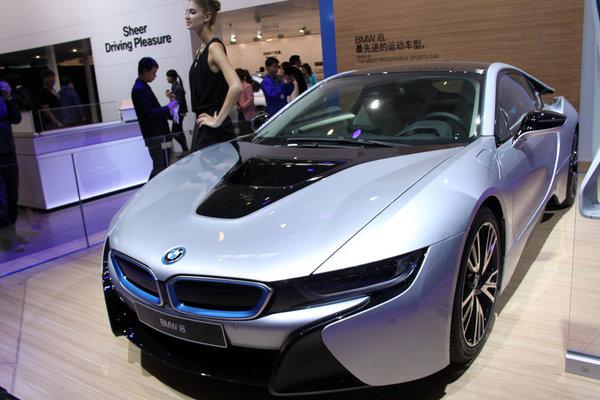 2014北京车展宝马发布i8 预计年内上市