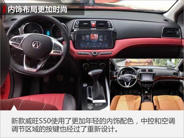 威旺新款S50实车曝光 前脸神似福特锐界-图6