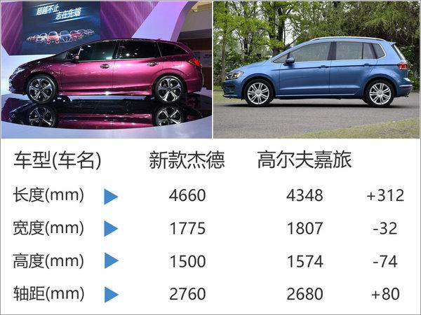 东风本田新款杰德将上市 预计14.5万起售-图3