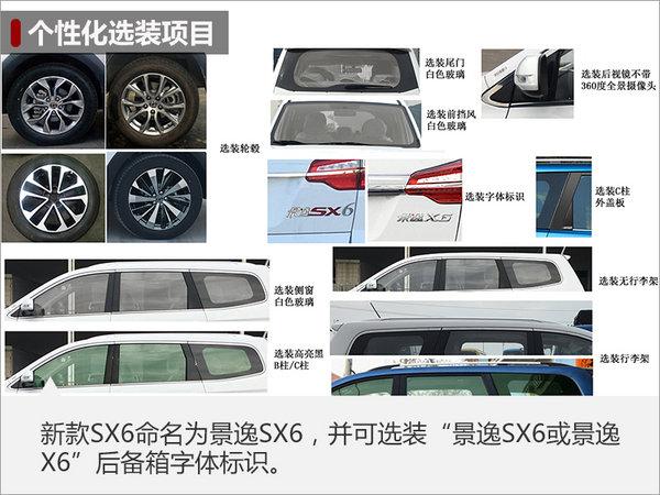 东风风行新款SX6将更名 增搭1.5T发动机-图1