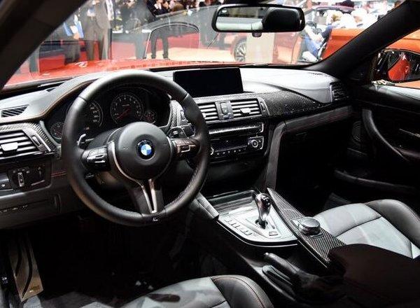 新款宝马M4正式上市 3.0T发动机92.7万起-图2