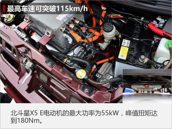 昌河电动版北斗星X5曝光 最大续航255km-图6