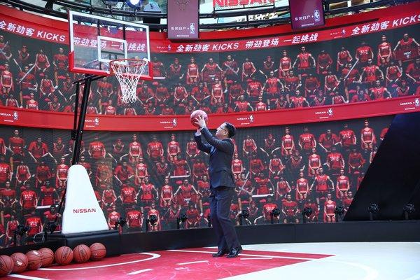 东风日产NBA球迷日系列活动北京站开启-图5