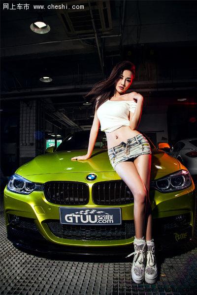 BMW王子与靓丽辣模 演绎绝美湿身诱惑-1