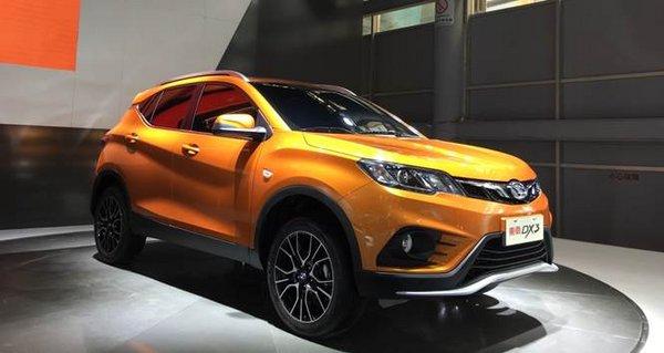 东南汽车首款小型SUV车型DX3惊艳首秀、东南DX7引领个性定制、高清图片